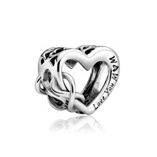 Подвеска для браслета «love you mom» оригинальный браслет с