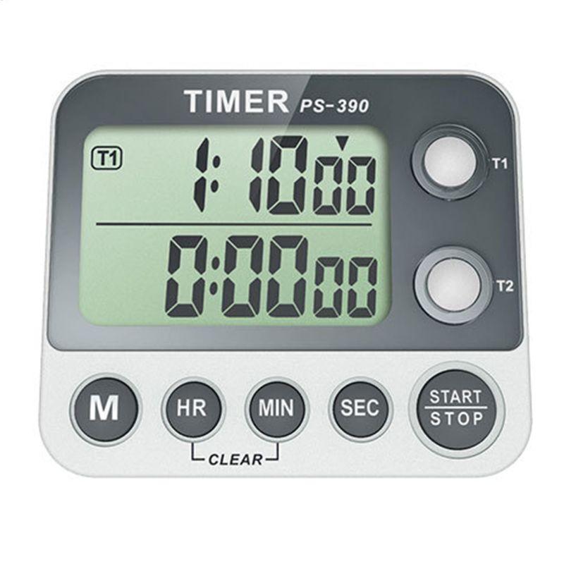 Grupo Temporizador Cronômetro Cozinha Cozinhar Eletrônico Digital Portátil Contagem Regressiva Despertador Lembrete 0.01s 2