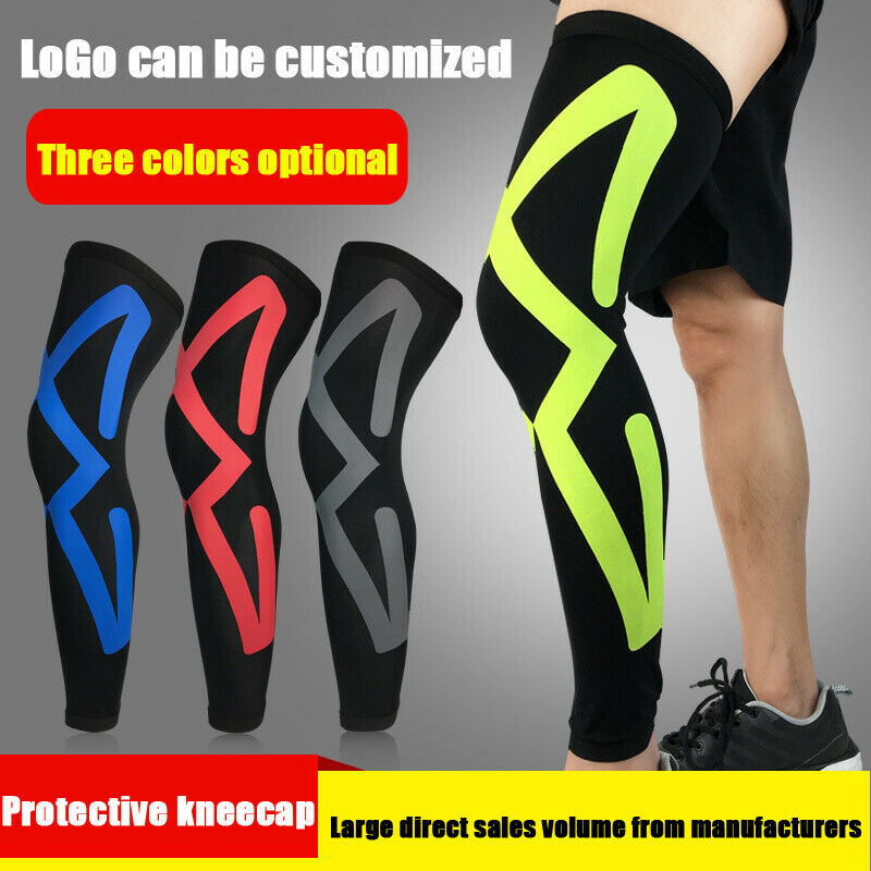 Outdoor Sports Leg Sleeve Knee Brace Gym Cycling Basketball Knee Support For Adult