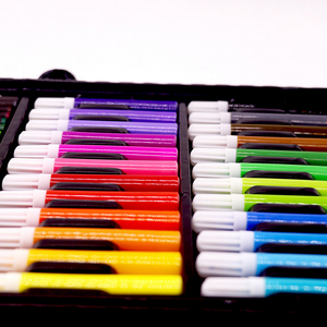 Image 2 - مجموعة أقلام تلوين فنية للرسم مكونة من 168 قطعة أقلام تلوين ألوان مائية للأطفال والطلاب هدايا أعياد الميلاد للأطفال