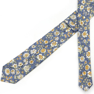 Image 3 - New Style Floral Brisk Soft Texture Tie 100% Cotton For Men&Women Casual Dress Handmade Adult Wedding Tuxedo Tie Accessory Gift