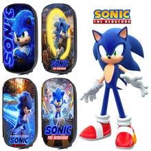 Sonic зубная щётка Карандаш Чехол для мальчиков ручка девочек