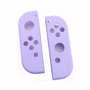 Image 5 - YuXi 보호 케이스 닌텐도 스위치 NS 조이 콘 교체 하우징 쉘 커버 NX 조이 콘 컨트롤러 케이스 그린 핑크