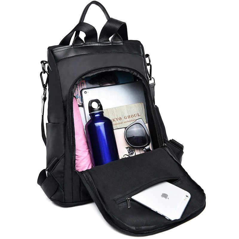 กระเป๋าเป้สะพายหลังผู้หญิงผ้ากันน้ำ Oxford กระเป๋า Leisure เดินทางกระเป๋าเป้สะพายหลังเล็ก Mochila Mujer Mochila Feminina