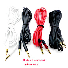 Male to male 3.5mm audio aux cable 1m 35 jack to 3 . 5 mm jack Car aux cable for iPhone headphone beats speaker aux cord MP3/4 n celega matinee aux alpes op 273