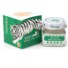 3/5 pçs 20g original branco tigre gesso para dor de cabeça alívio da dor bálsamo artrite meridiano calmante creme bálsamo óleo essencial