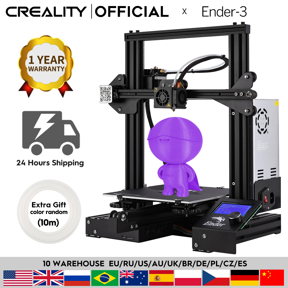 CREALITY 3D Printer Ender-3/Ender-3X Upgraded Optional,V-slot Resume Power Failure Printing Masks DIY KIT Hotbed