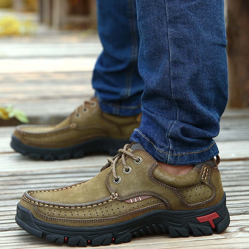 Ha3c16c39fe6f4d05a73a8c115935cb96j High Quality 2019 New Men Comfortable Sneakers Waterproof Shoes Leather Sneakers Fashion Casual Shoes Male Plus Size 38-48