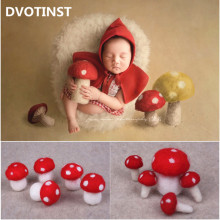 Mushroom-Accessories Photo-Props Studio-Shooting Dvotinst Newborn-Baby Infant Cute Mini