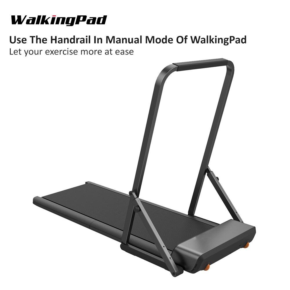 WalkingPad main courante pliable pour tapis roulant A1/A1 Pro modèle plein Support en acier fort accoudoir Durable empêcher la chute Balustrade - 5