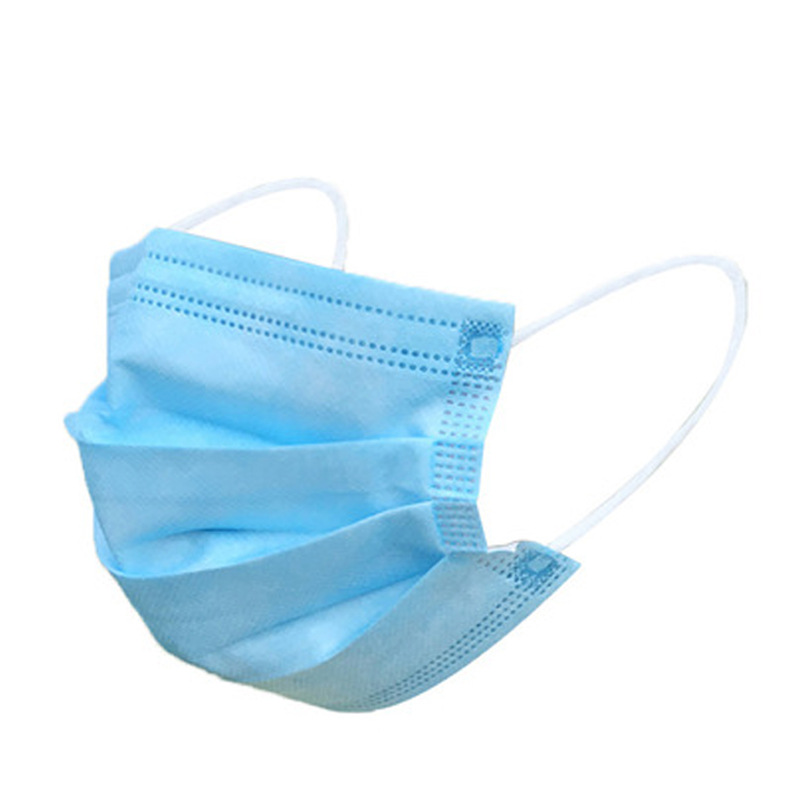 50pcs Disposable Face Mouth Masks Anti PM2.5 Influenza Breathable Safety Masks Face Care Elastic Earloop Non-woven 3 layers Mask