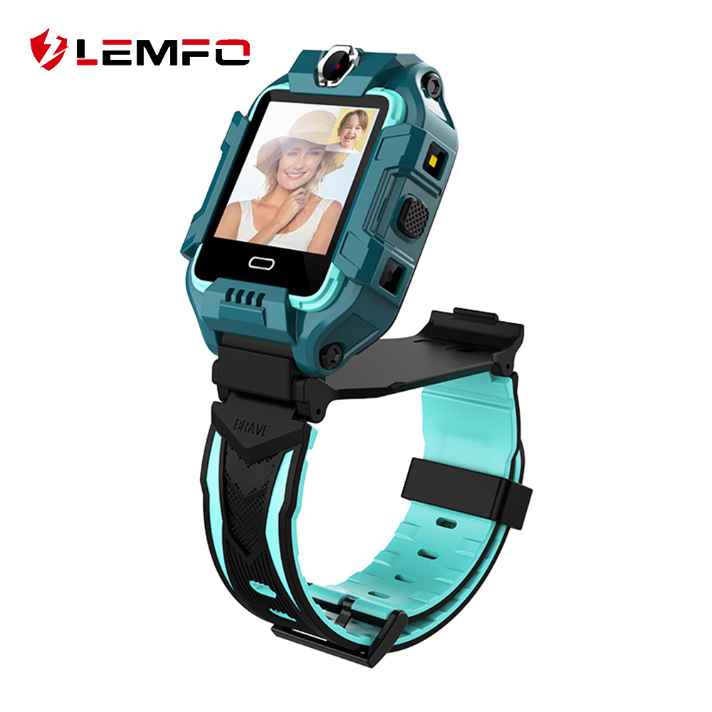 LEMFO 2020 Z6 New Kids Smart Watch Dual Camera Support HD Video Call GPS Wifi LBS Children Smart Watch Kids  Android IOS