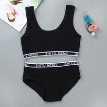Bra-Set Girls Children Puberty-Vest Student 8-14-Years for Brassiere-Bras And Solid-Color