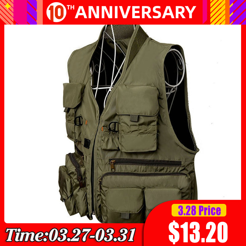 Korean Fishing Vest Quick Dry Fish Vest Breathable Material Fishing Jacket Outdoor Sport Survival Utility Safety Waistcoat|Fishing Vests| |  - title=