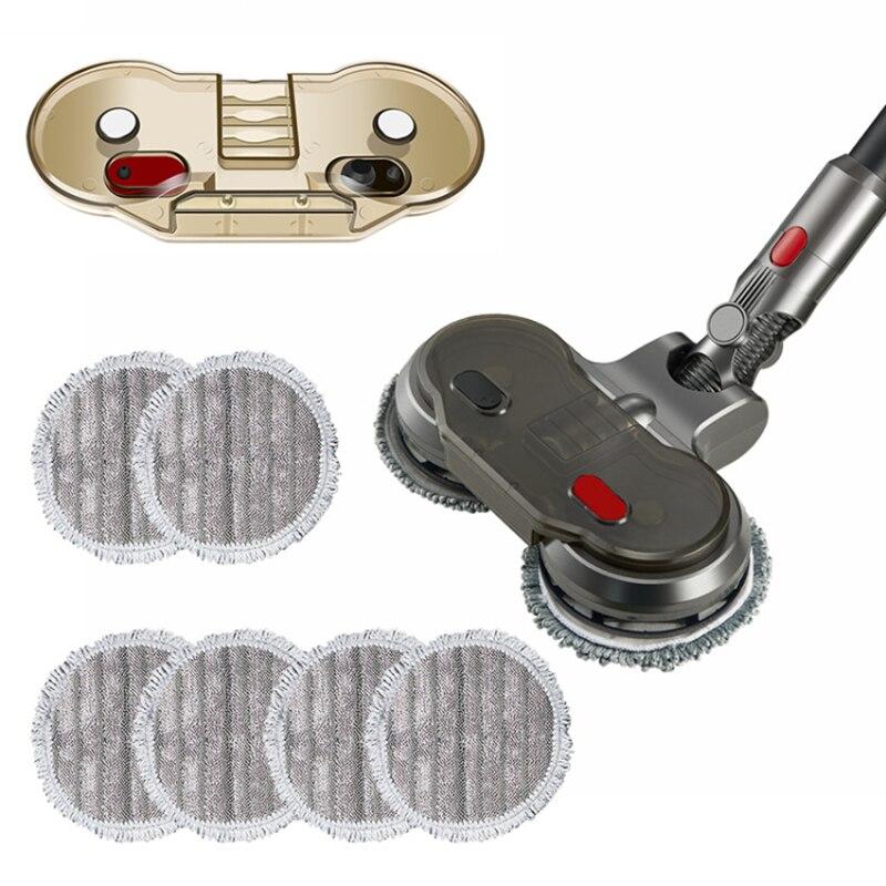 Электрическая Швабра мокрый пол буксировочный трос бытовой уборки пола чистящая головка для Dyson V7 V8 V10 V11 пылесос