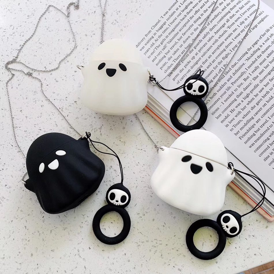 Earphone Case For Airpods 2 Case Silicone Cartoon Cute Fashion Cover For Apple Air pods Case Accessories For Earpods Earbuds Bag