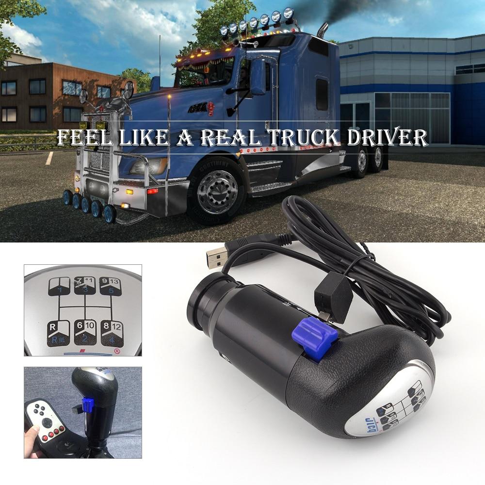 ALMAR SKRS Gearshift Knob From A MAN Truck ATS ETS For Logitech G25 G27 G29 G920 H Gear For ETS2 & ATS Games