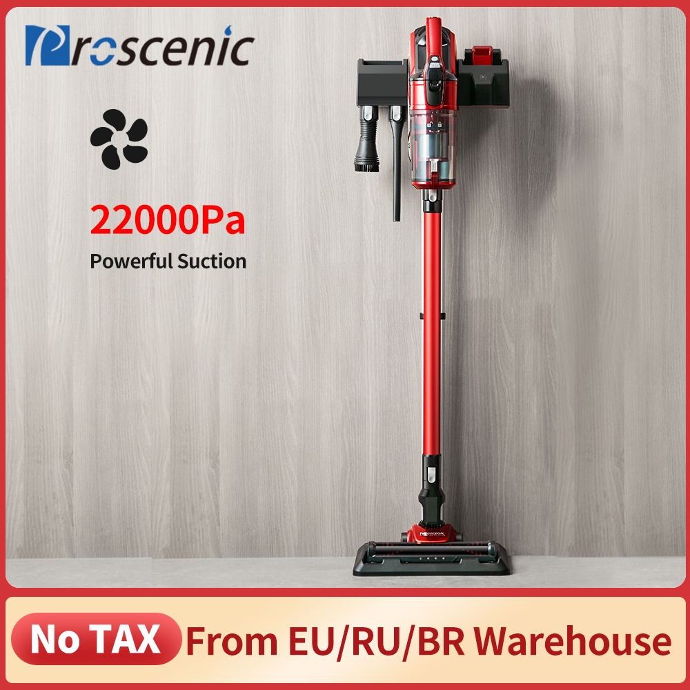 Proscenic I9 22000Pa Rechargeable Handheld Vacuum Cleaner for Home Cyclone Filter Portable Vertical Cordless Vacuum Cleaner|Vacuum Cleaners|   - AliExpress