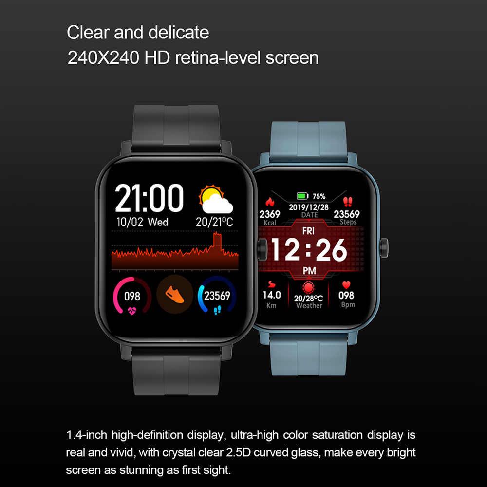 LEMFO 2.5D HD Display Nuovo Astuto Della Vigilanza 2020 Degli Uomini FAI DA TE Orologio Viso Tempo di Sport Donne Smartwatch Android IOS GTS 14 giorni In Standby