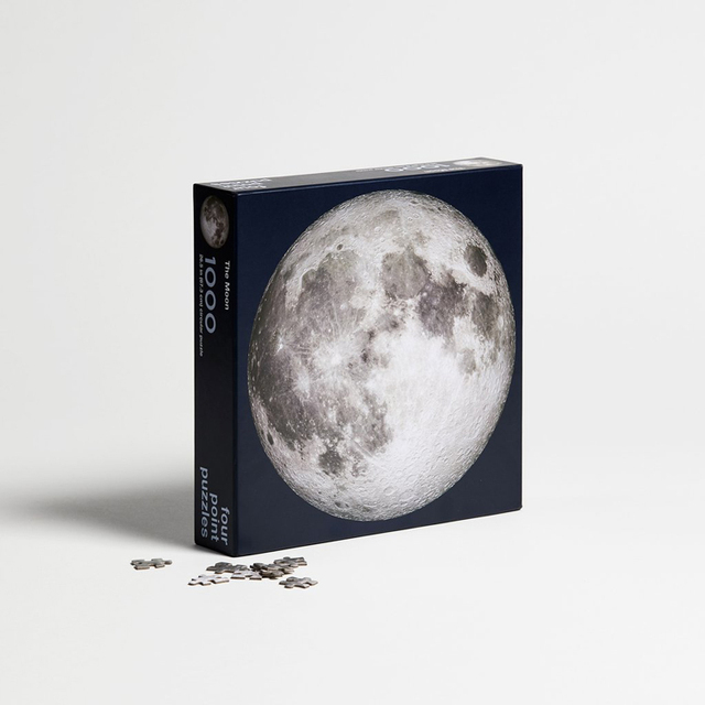 Round Moon Puzzle 1000 Pieces
