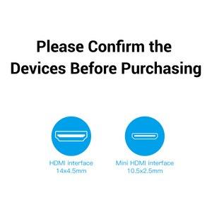 Image 5 - Vention Miniความเร็วสูงสายHDMI Mini HDMIมาตรฐานหญิงสายต่อHDMIข้อมูลอะแดปเตอร์