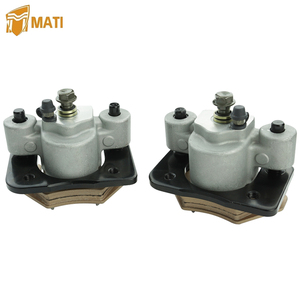 1436-422 1436-423 Front Brake Caliper for Atv Arctic Cat Alterra 250 300 350 400 450 500 550 650 700 100 XC450 XR with Pads