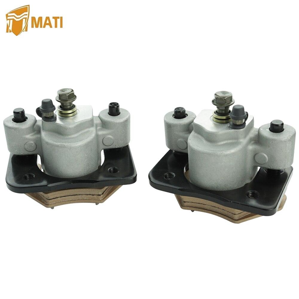 Front Rear Brake Caliper for Atv Arctic Cat Alterra 250 300 350 400 450 500 550 650 700 1000 XC450 XR with Pad 1436-422 1436-423