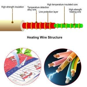 Image 4 - Elektrikli battaniye çift 220v sıcak ısıtıcı yatak termostat yumuşak elektrikli yatak ısıtıcılı battaniye isıtıcı isıtıcı halı abd ab