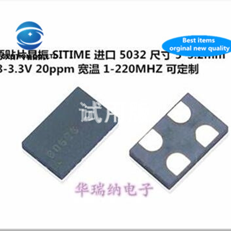 5pcs 100% New And Orginal OSC 5032 100M 100MHZ 100.000MHZ 3.3V SITIME Active SMD Crystal 4 Pin