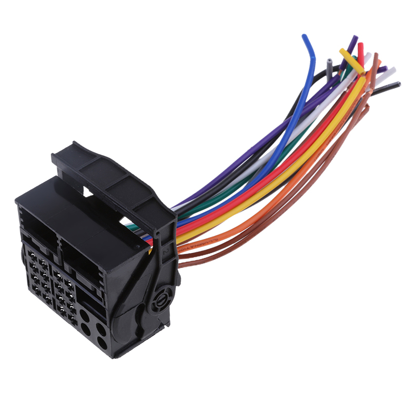 Hot Price #42179 - Car Stereo Wire Harness Audio Radio ... on mercury mountaineer stereo, bmw 3 series stereo, audi a7 stereo, cadillac escalade stereo, hyundai accent stereo, saab 9-5 stereo, volkswagen touareg stereo, ford explorer sport trac stereo, chevrolet malibu stereo, nissan juke stereo, lexus rx stereo, audi b7 stereo, land rover discovery stereo, mitsubishi galant stereo, volvo 850 stereo, audi a4 stereo, mazda 5 stereo, acura rsx stereo, lincoln mkz stereo, audi a5 stereo,