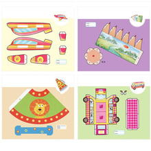 10Pcs Children Drawing 3D Pens Copy Plate Paper Mold for 3D Printing Pen Drawing Stencils & Doodle Best Gift for Kids стоимость