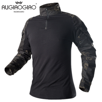 Camouflage Men Military Uniform Tactical Shirsts Long Sleeve T Male Army Combat Shirt Airsoft Paintball Clothes Soldiers Shirt brand military camouflage t shirt men multicam uniform tactical long sleeve t shirt airsoft paintball clothes army combat shirt