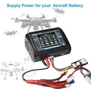 Image 4 - Em estoque htrc t150 carregador de bateria inteligente ac/dc 150w 10a com carga do equilíbrio da tela de toque para lipo lihv vida lilon nicd nimh pb b