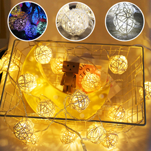Garden Decoration Sepak Takraw String Light Led Bell Party Wedding Shop Photography Background