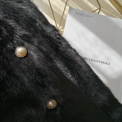2020 New Style High-end Fashion Women Faux Fur Coat S102