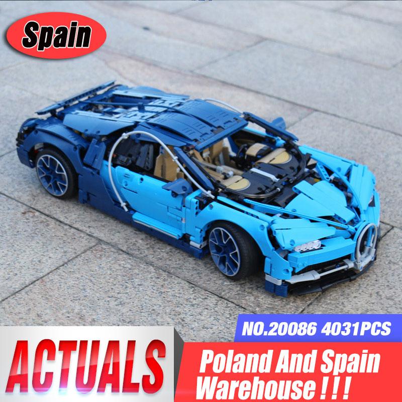 DHL Technic voiture 20086 Compatible avec 42083 Chiron voiture blocs de construction briques voitures éducatives jouets à garçon voiture cadeaux modèle-in Blocs from Jeux et loisirs    1