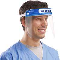 Safety Face Shield Reusable Full Face Transparent Breathable Windproof Dustproof Hat Shield to Protect Eyes and Face