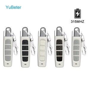 Image 1 - YuBeter 315MHZ Clone Duplicatorควบคุมระยะไกลไร้สายไฟฟ้าCopy Controller ABCD 4ปุ่มประตูโรงรถประตู