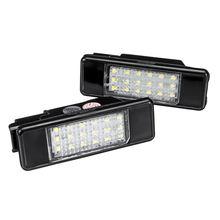 Luci targa a LED 2 pezzi 6340 A3 per Peugeot 106 207 307 308 406 407 508 Citroen C3 C4 C5