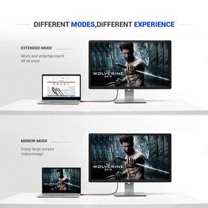 Image 3 - QGeeM USB C vers HDMI 4K 60Hz câble USB Type C vers HDMI adaptateur USB C HDMI Thunderbolt 3 convertisseur pour MacBook Huawei Samsung S10