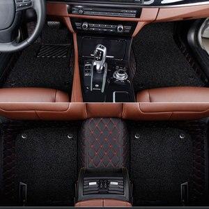 Image 3 - Car floor mats for  Mercedes Benz Viano A B C E G S R V W204 W205 E W211 W212 W213 S class CLA GLC ML GLA GLE GL GLK Car  carpet