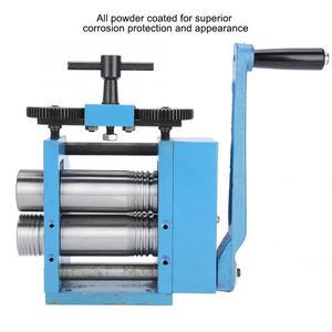 Image 3 - 品質鉄マニュアルコンビネーション圧延機ジュエリー打錠処理機器マニュアルローリングミルツール宝石