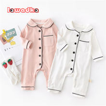 Infant Outfits Jumpsuit Spring Boys Rompers Baby-Girls Autumn Newborn Cotton Lawadka