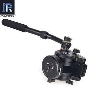 Image 3 - Innorel旗艦H90耐久性のあるデジタルカメラ一脚三脚ヘッドcnc技術負荷油圧ダンピング15キロビデオ