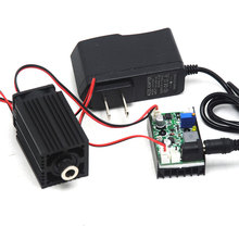Focusable 850nm 1w Infrared Laser Module Line Beam 1000mW Diode Lasers w Fan & TTL & 12V 1A Adapter 33mm*50mm 1w laser