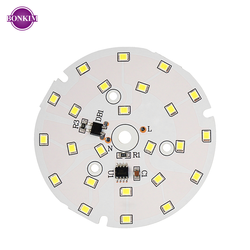 LED Chip DIY LED Downlight Lamp SMD 18W 15W 12W 9W 7W 5W 3W AC220V Smart IC For Ceiling Recessed Spotlight Cold White Warm White