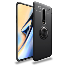 for Oneplus 7 Pro Case Magnetic Car Holder Shockproof 1+7 7Pro Oneplus7 Finger Ring Matte Soft Cover Coque