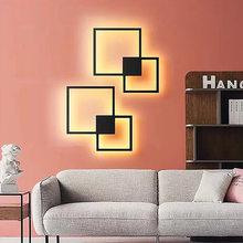 Светодиодный настенный светильник hartisan для гостиной Круглый/квадратный