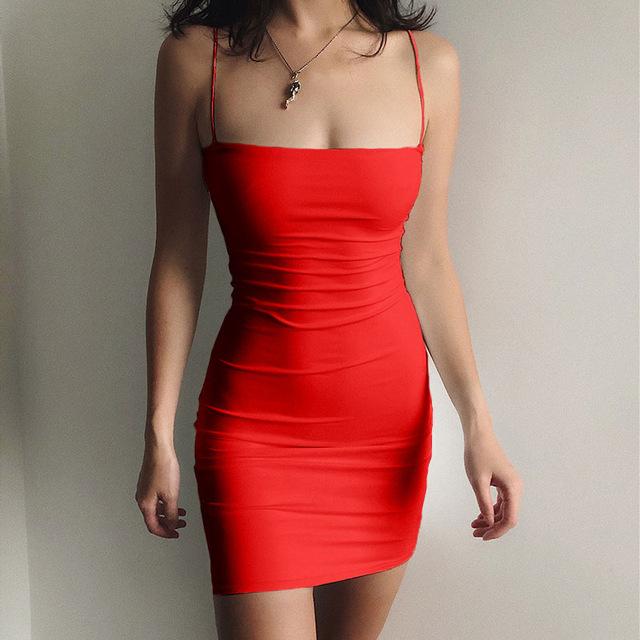 Women Spaghetti Strap Dresses