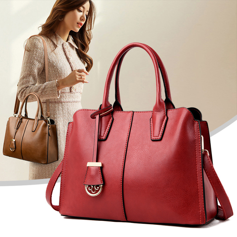 Women's Bag Genuine Leather 2020 New Women's Bags Classic 328 Sale Women's Document Bag